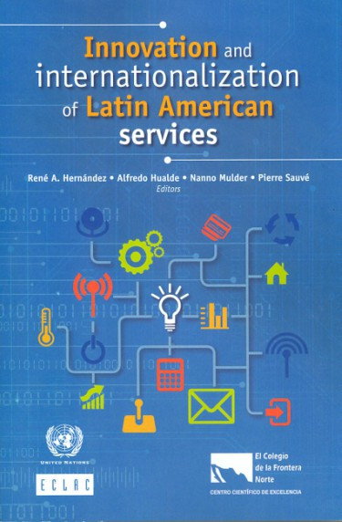 Portada de Innovation and internationalization of Latin American services