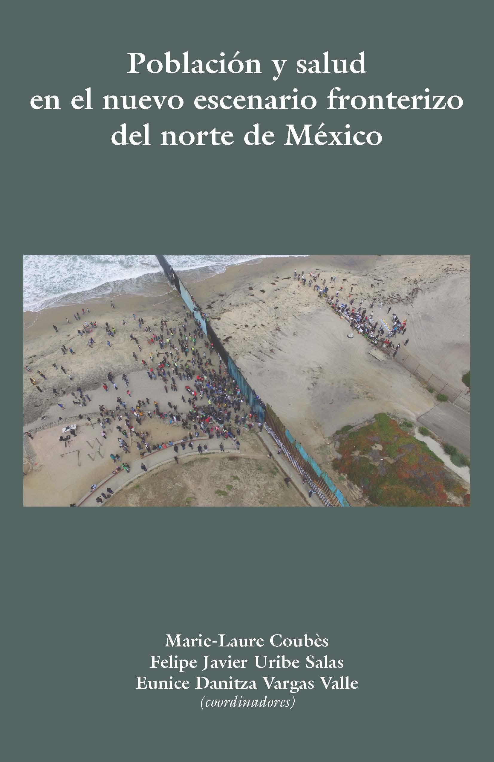 Portada de Población  y salud en el nuevo escenario fronterizo del norte México