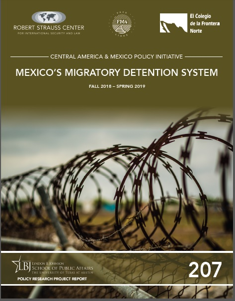 Portada de Mexico's Migratory Detention System