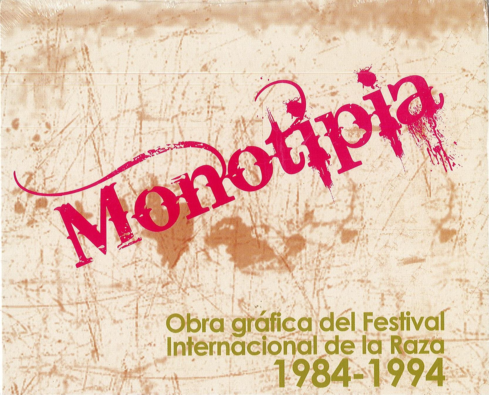 Portada de Monotipia