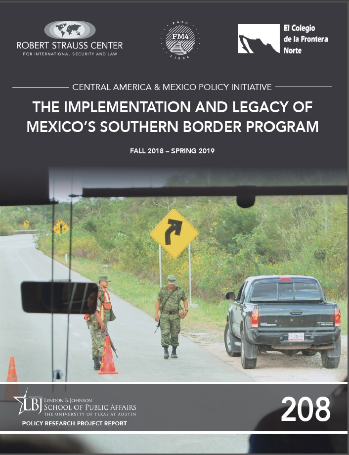 Portada de The Implementation and Legacy of Mexico's Southern Border Program