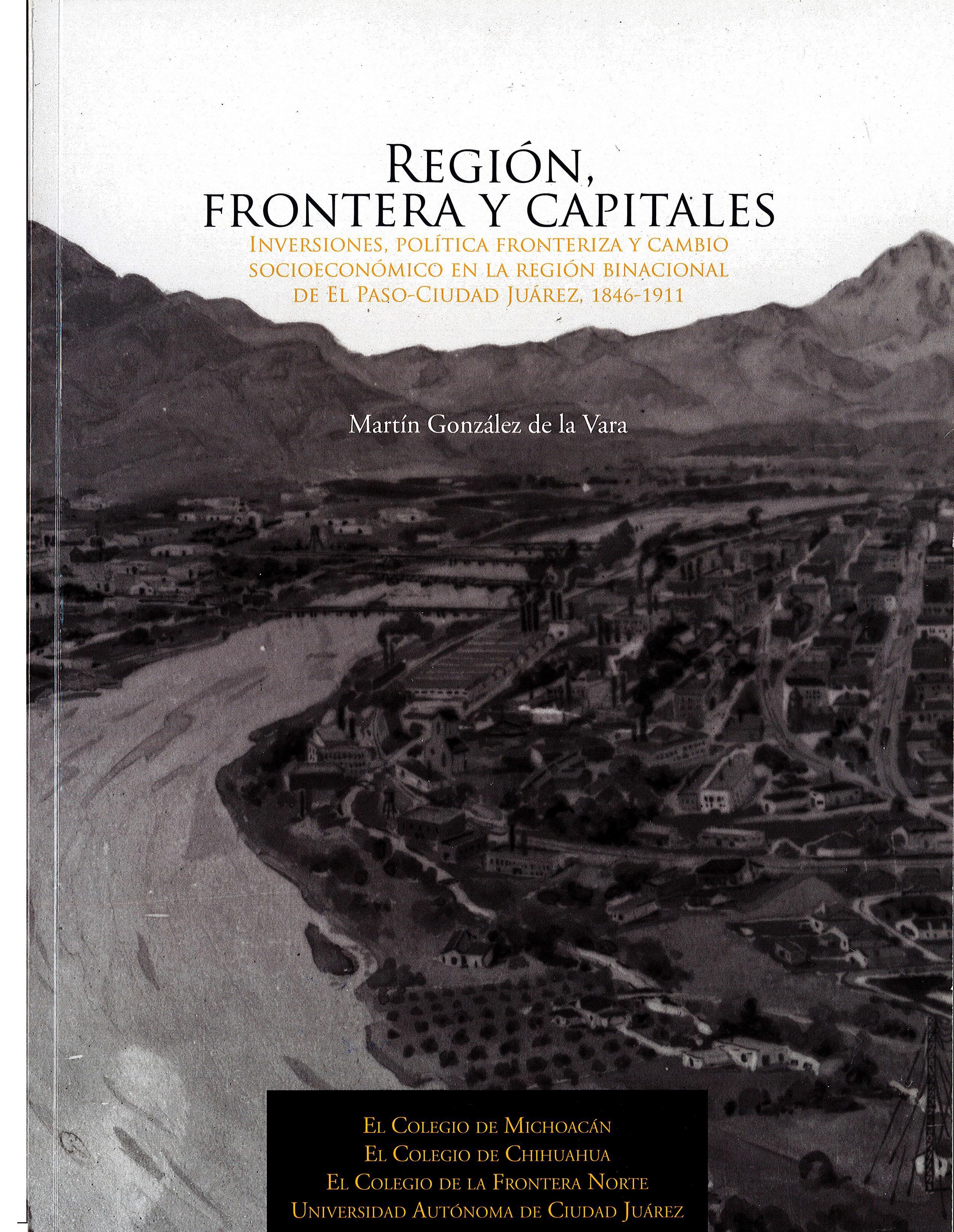 Región, frontera y capitales