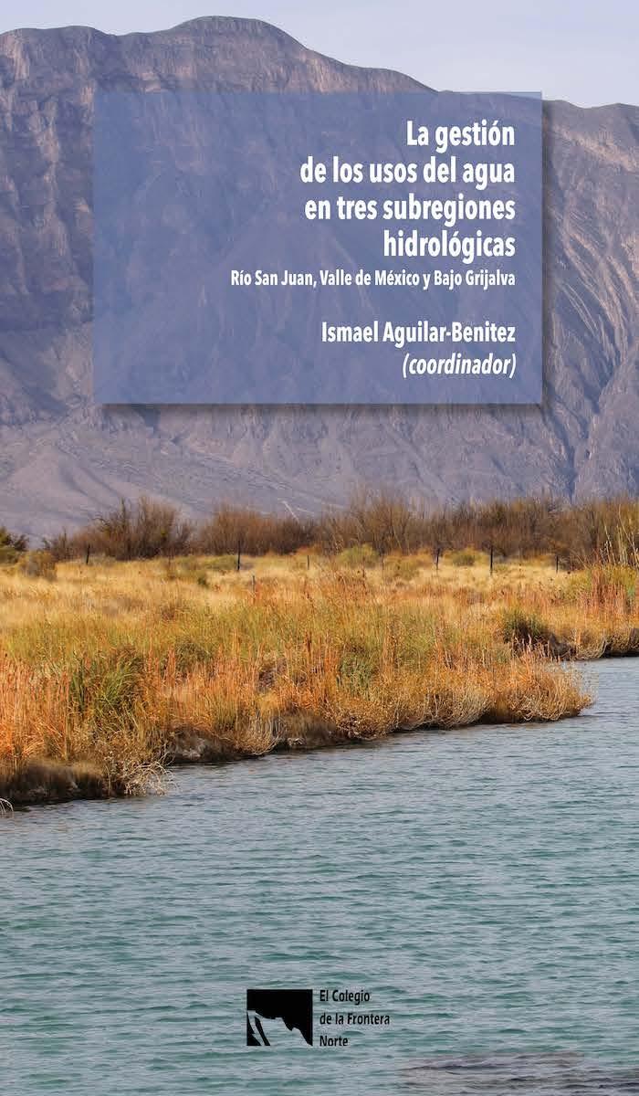 Portada de La gestión de los usos del agua en tres subregiones hidrológicas: Río San Juan, Valle de México y Bajo Grijalva
