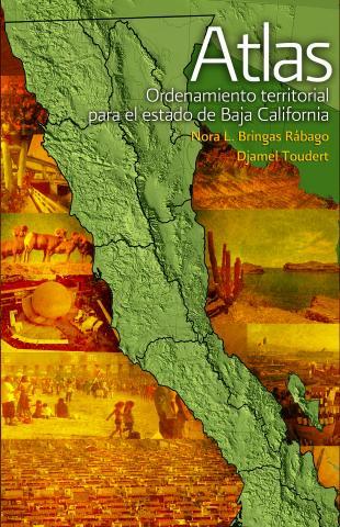 Portada de Atlas: Ordenamiento territorial para el estado de Baja California