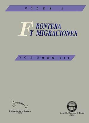 Portada de Frontera y migraciones