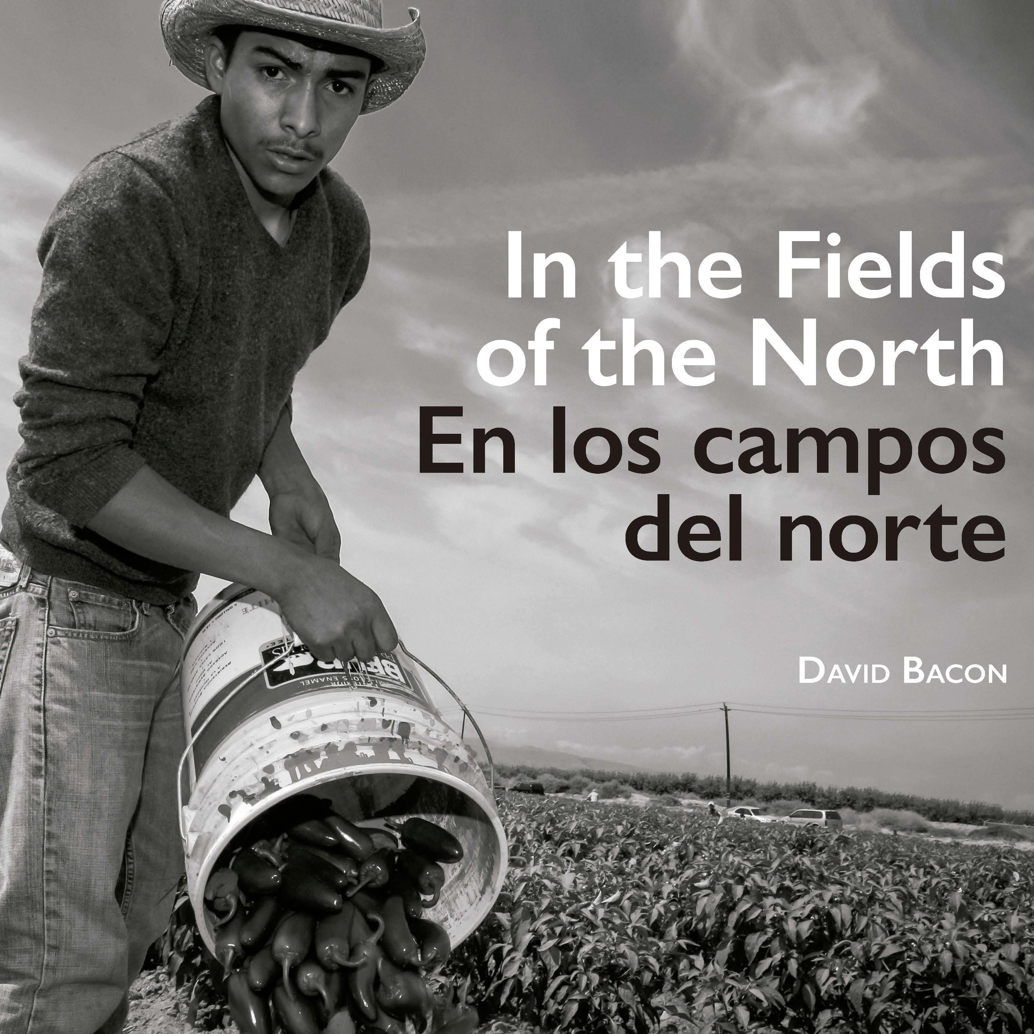 Portada de In the fields of the north / En los campos del norte. (1a. reimpresión)